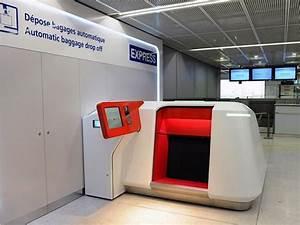 Ajouter Bagage Air France : adp d ploie son d pose bagage minute roissy air journal ~ Gottalentnigeria.com Avis de Voitures