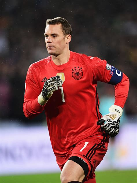 Manuel neuer is a goalkeeper and is 6'2 and weighs 176 pounds. Manuel Neuer Photos Photos - Germany v Northern Ireland - FIFA 2018 World Cup Qualifier - Zimbio