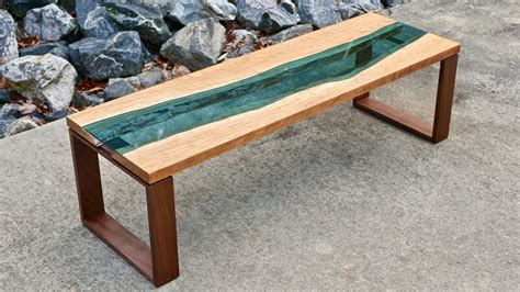 Live Edge River Coffee Table, How To Build Woodworking