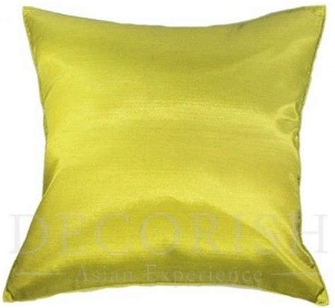 Oversized Decorative Pillows For Bed by 1x Silk Large Decorative Throw Pillow Cover For Sofa