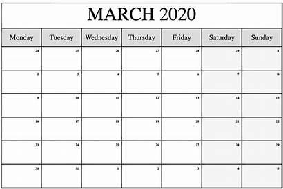 Calendar March Printable Holidays Plan United