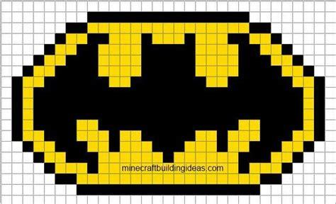 batman graph paperpixel art pixel art templates