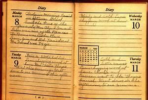 Examples Of Diaries  U0026 Journals