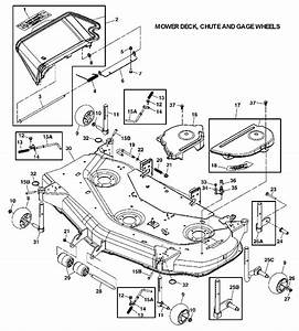 John Deere Gt235 Mower Deck Belt Diagram
