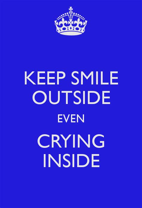 Keep Smiling Even Though Quotes