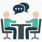 Icon Speak Speaking Business Conversation Icons Activities