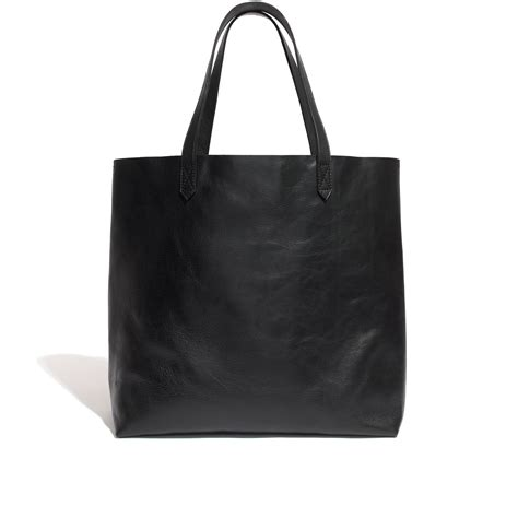 madewell  transport tote  black lyst
