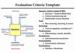 generous software evaluation criteria template gallery With resume evaluation criteria