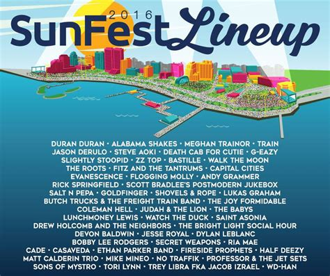 Here it is! Your @sunfestfl 2016 lineup! #ilovewpb ...