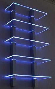 Regal Mit Beleuchtung : design regal beleuchtet mit leds in blau in 42929 ~ Michelbontemps.com Haus und Dekorationen