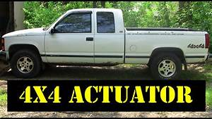 1995 Chevy K1500 - 4x4 Thermal To Motorized Actuator Upgrade - Tips N Tricks