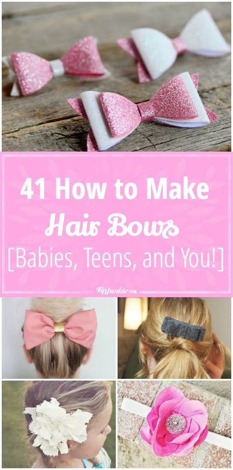 how to make baby hair 41 how to make hair bows babies and you hair