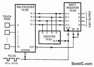 Contactless Keyboard - Control Circuit