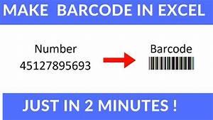 Barcode Nummer Suchen : make barcode in excel youtube ~ A.2002-acura-tl-radio.info Haus und Dekorationen