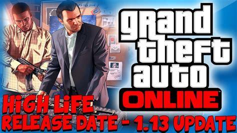 gta   high life update dlc  cars info