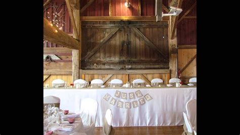 barn wedding vintage wedding kerr  design