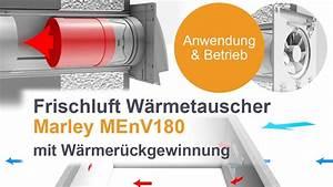 Frischluft Wärmetauscher Test : frischluft w rmetauscher menv180 von marley produktvideo youtube ~ Orissabook.com Haus und Dekorationen