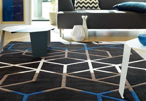 carrelage design 187 tapis bleu petrole moderne design