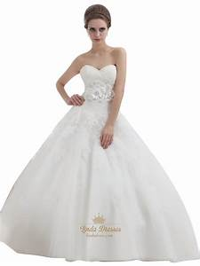 ivory ball gown lace bodice tulle skirt wedding dress with With ivory ball gown wedding dress