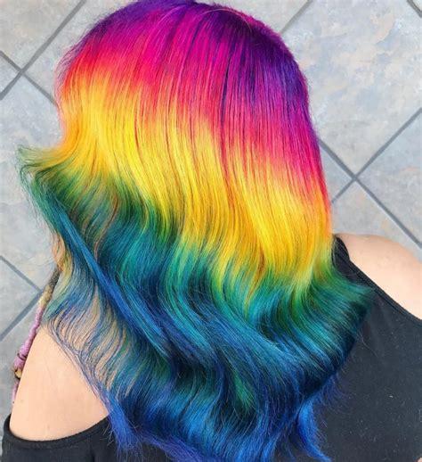 Colors For Hair by Rainbow Hair Color Artist In Tacoma Wa Hair Colors Ideas
