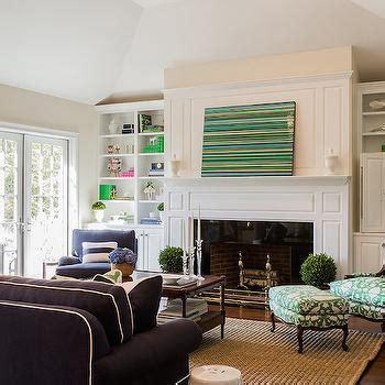 hidden tv  fireplace design ideas