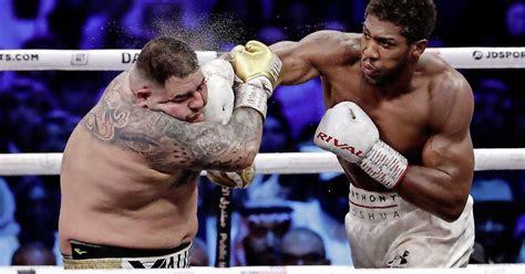 bokser ruiz verloor  miljoen gevecht met joshua ik  te zwaar sport telegraafnl