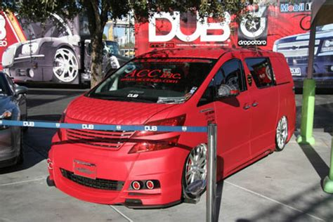 Toyota Vellfire Modification by World Most Wanted News Modification Toyota Vellfire Cool