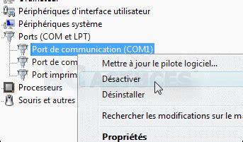 PORT COMMUNICATION GRATUITEMENT COM1 DE TÉLÉCHARGER