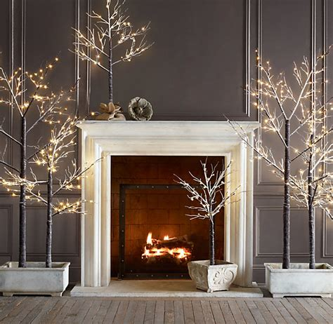 white and silver holiday decor 2012 popsugar home