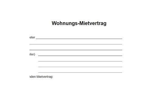 Hamburger Mietvertrag Fur Wohnraum Pdf Download Brondergoldcha