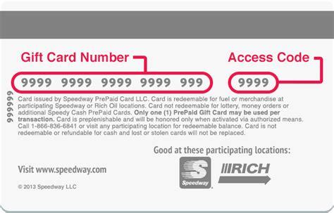 pre paid debit card speedway