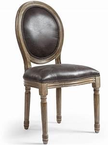 Chaise Medaillon But : chaise m daillon bois et simili effet vieilli louis xvi lot de 2 ~ Teatrodelosmanantiales.com Idées de Décoration