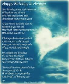 Happy Birthday to You in Heaven