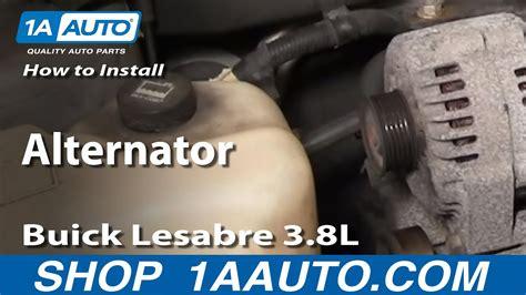 install repair replace alternator buick lesabre