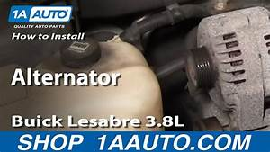How To Install Repair Replace Alternator Buick Lesabre 3