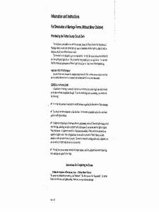 Marriage Certificate Templates Illinois Divorce Forms Free Templates In Pdf Word