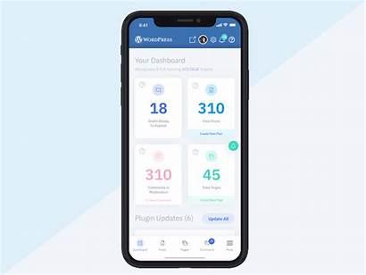 Dashboard Mobile App Google Phone Ui Redesign