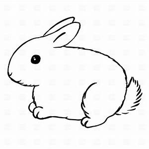 Rabbit bunny clipart black and white free clipart images 5 ...