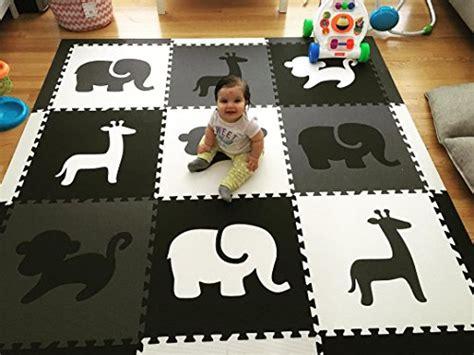 softtiles kids foam playmat safari animals theme non