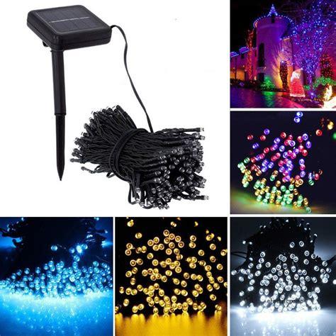 solar xmas lights for sale solar powered 100 200 led string fairy lights garden