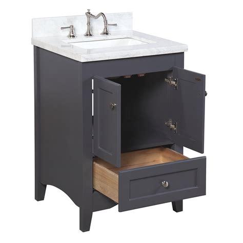 kbc abbey  single bathroom vanity set reviews wayfair