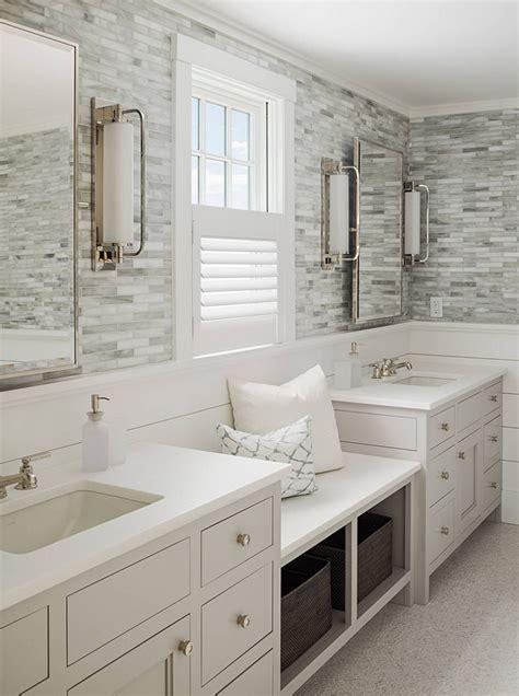 White Shiplap Bathroom by Vinyl Shiplap Backsplash Interior Designs