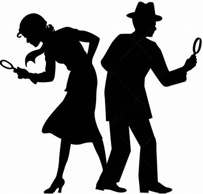 Detective Silhouette Clipart Transparent Special Investigation She