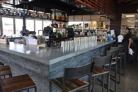 Commercial Bar by Concrete Bar Tops Custom Countertops