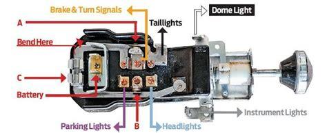 1964 ford f100 headlight switch wiring diagram wiring