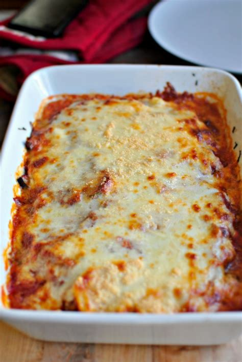 baked spaghetti with cottage cheese simply scratch vegetarian spaghetti squash lasagna