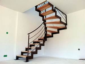 Escalier Metal Et Bois : escalier bois m tal brest guipavas plougastel daoulas ~ Dailycaller-alerts.com Idées de Décoration