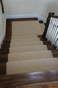 Wood Stairs Carpet Runner