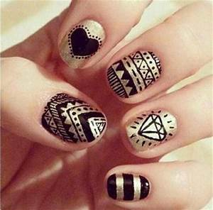 Images Of Easy Tribal Nail Art Designs Golfclub