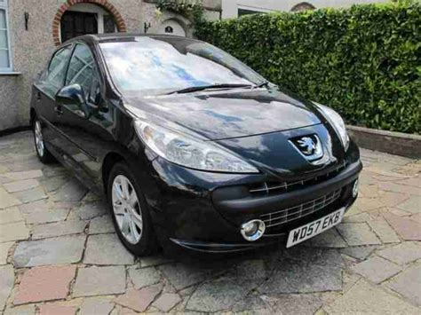 peugeot sports cars for sale peugeot 2008 207 sport hdi 110 black car for sale